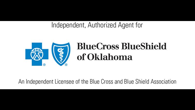 blue cross blue shield of oklahoma logo - health insurance provider ponca city ok